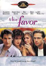 The Favor ~ Brad Pitt Bill Pullman Elizabeth McGovern ~ OOP DVD ~ FREE Shipping