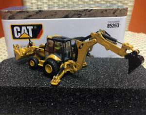 1/87 Caterpillar Cat 450E Backhoe Loader Ho Scale By Diecast Masters #85263