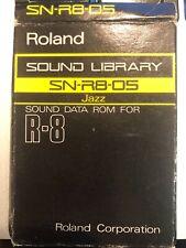 Roland SN-R8-05 Jazz PCM Tarjeta de ROM R8 tambores en muy buena condición