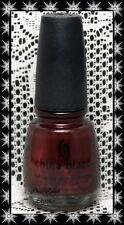 China Glaze *~Branding Iron~* Nail Polish Lacquer 2008 Rodeo Diva Discontinued!