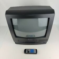 "Quasar VV-1330SA TV VCR Combo 13"" CRT for Retro Vintage Video Games & Campers"