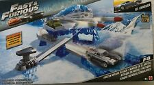 Mattel Fast and Furious Street Scenes Frozen Missile Attack Play set w/ 1-55 Car
