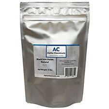 Black Iron Oxide Fe3o4 Natural 5 Pounds