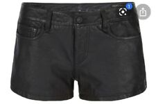 All Saints Perry Leather Shorts
