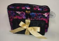 Modella 2-Piece Train Case Set of Cosmetic Bags
