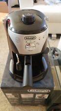 DeLonghi Espresso Machine Coffee Pump Maker 15 Bar Latte Automatic Steam Black