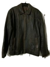 Reilly Olmes Rogue Jacket/Coat In Distressed Brown Buttery Soft Leather M $495