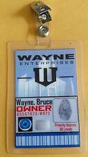 Batman Id Badge- Wayne Enterprises Bruce Wayne Owner cosplay prop costume