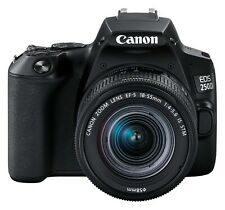 Canon EOS 250D / Rebel SL3 DSLR Camera with 18-55mm Lens (Black)