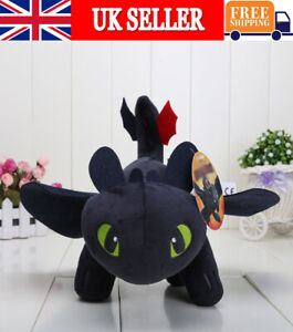 Cotton How To Train Your Dragon Toothless Plush Stuffed Toy Soft Warm Doll Gifts