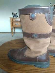 Dubarry Kildare Country Boots Size EU39size 8 GORE-TEX Walnut Leather