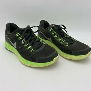 Nike Lunarglide 4 OG Squadron Green Reflect Silver 531986-303 Mens Size 8