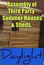 Assembly Service Summer Houses Sheds Garden Bars