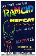 Rancid Punk Colorado Original Concert Poster 1998