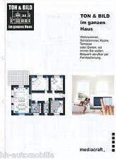 Catalogo prospetto mediacraft tono & immagine in tutta la casa 2002 altoparlanti Hi-Fi