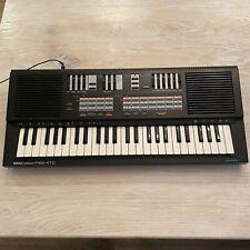 Yamaha PortaSound PSS-470 Key Digital Synthesizer - TESTED & WORKS!