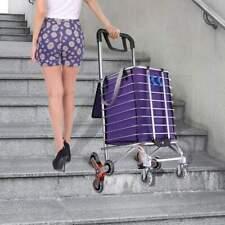 Stair Climbing Hand Truck Trolley Dolly Wheels Climber Folding Shopping Cart ,