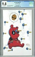 Do You Pooh #1 CGC 9.8 Deadpool #1 Virgin Edition Skottie Young Cover Homage UCB