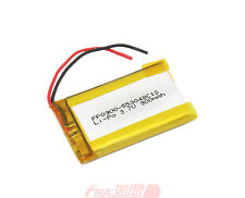 One 553048 3.7V 900mAh LiPo Battery Replace for Phone MP4 GPS  inside cell U/R