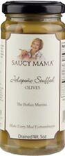 Saucy Mama Jalapeno Stuffed Olives (5oz.) - 6 PACK