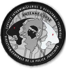 Ecusson POLICE JUDICIAIRE D.C.P.J / S.I.A.T ANTENNE CORSE