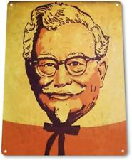 Colonel Sanders Fried Chicken Kitchen Sign Decor