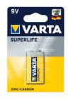 Varta Superlife Batterie 9V E-Block 6R61 2022, 1er Pack