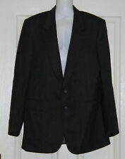Mens size M grey pure new wool jacket made by STAFFORD ELLINSON  royal sovereign