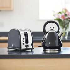 Russell Hobbs Legacy 2 Slice Toaster And 21883 Legacy Kettle Set - Black