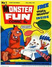 CLASSIC UK COMICS/- THE COMPLETE MONSTER FUN COMIC DVD ROM COLLECTION
