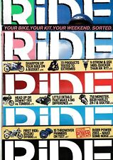 Various Issues of RIDE Magazine from November 1995 to December 2004