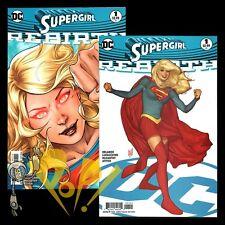 DC Rebirth SUPERGIRL #1 Lupacchino & Adam HUGHES Variant SET 1st Print Comics NM