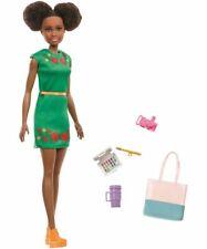 Mattel dreamhouse barbie viaje Nikki muñeca con accesorios | barbie a partir de 3 años