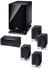 Heco ambiante 5.1 A, Home Cinéma Système avec actif-Caisson de basses, NEUF-Ware