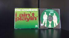 Rockmelons feat Roxane - I Ain't Playin 4 Track CD Single