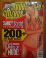 People Model Citizens Annual 2006 Magazine Hot Girls New Bonus 16 Pages