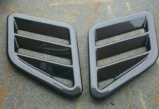 FOCUS RS MK3 LATEST STYLE CARBON EFFECT BONNET VENTS, FITS RENAULT CLIO 172/180
