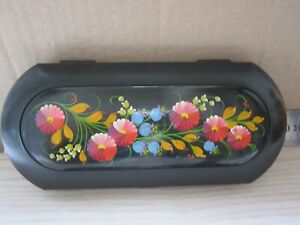 Soviet Ussr Box Eyeglasses Storage Painted Case Vintage Organic Celluloid