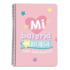 Cuaderno Tapa Forrada A5 Premium Moderna de Pueblo Antiestrés