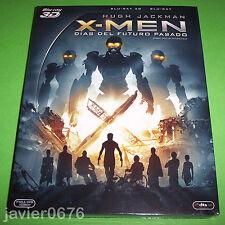 X-MEN DIAS DEL FUTURO PASADO BLU-RAY 3D + 2D NUEVO Y PRECINTADO