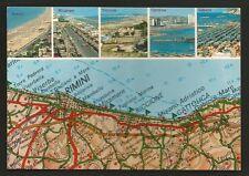 AD9908 Riviera Adriatica - Vedutine - Carta geografica