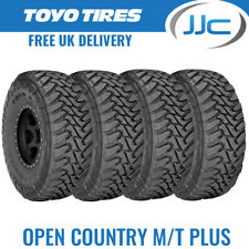 4 x Toyo Open Country M/T 225/75/16 115P Off Road / All Terrain Tyres - 2257516