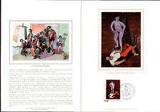 Briefmarken aus Europa mit Sonderstempel und Kunst-Motiv