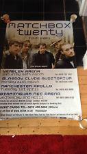 MATCHBOX 20 UK Tour 2003 Giant Poster Pop/Rock