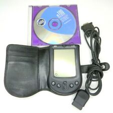 Vintage Palm M100 Pilot Pda Stylus Case Sync Cable Software Cd - Working