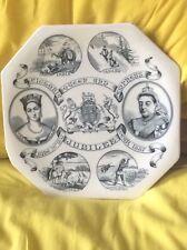 Queen Victoria 1887 Golden Jubilee Dominions Octagonal  Plate
