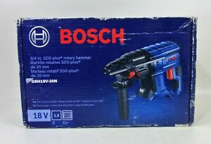 "Bosch GBH18V-20N - 18V 3/4"" SDS-Plus Rotary Hammer TOOL ONLY"