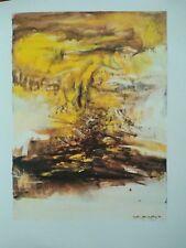 Rimbaud : Illuminations, illustrées de huit aquarelles inédites de Zao Wou Ki