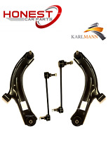 For NISSAN NOTE 2006> FRONT LOWER SUSPENSION WISHBONES ARMS & LINK BARS Karlmann