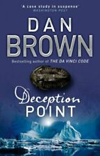 Deception Point by Brown, Dan Paperback Book The Cheap Fast Free Post